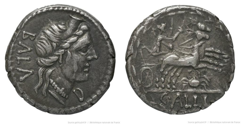 1189AE – Denier Aelia – Caius Allius Bala