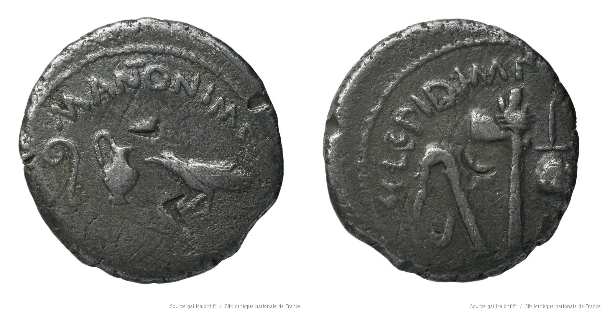 1565AN – Denier Marc Antoine et Lépide