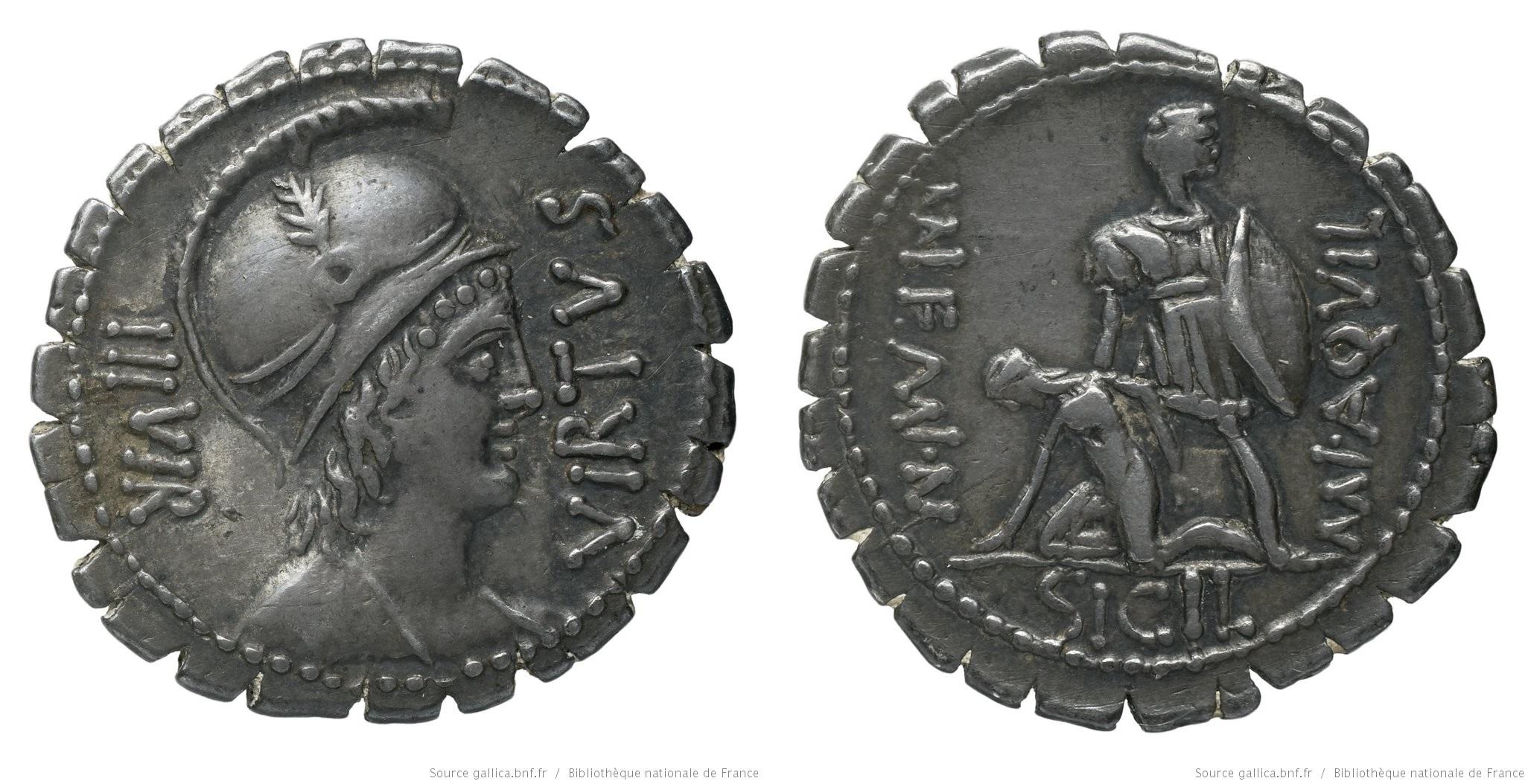 You are currently viewing 1345AQ – Denier Serratus Aquillia – Manius Aquillius