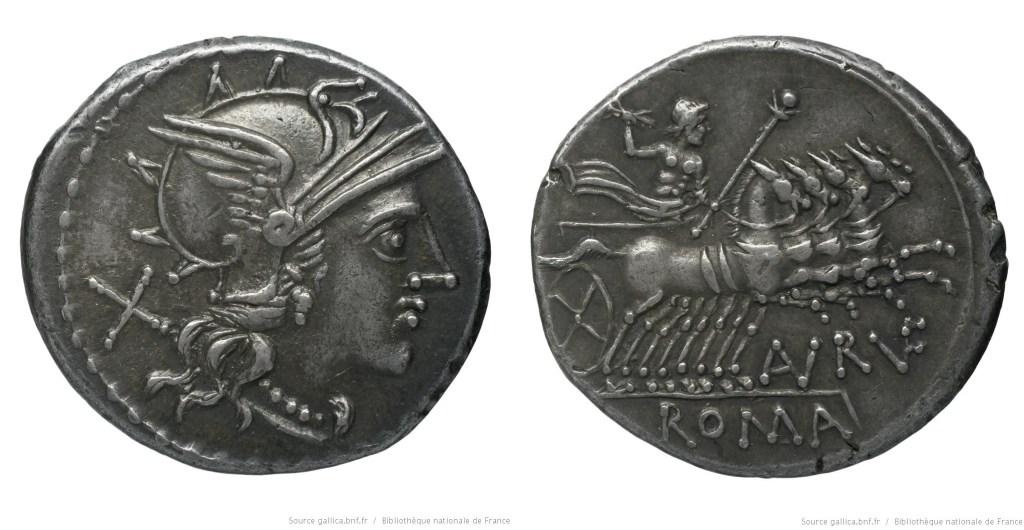 Read more about the article 899AU – Denier Annia – T. Annius Rufus