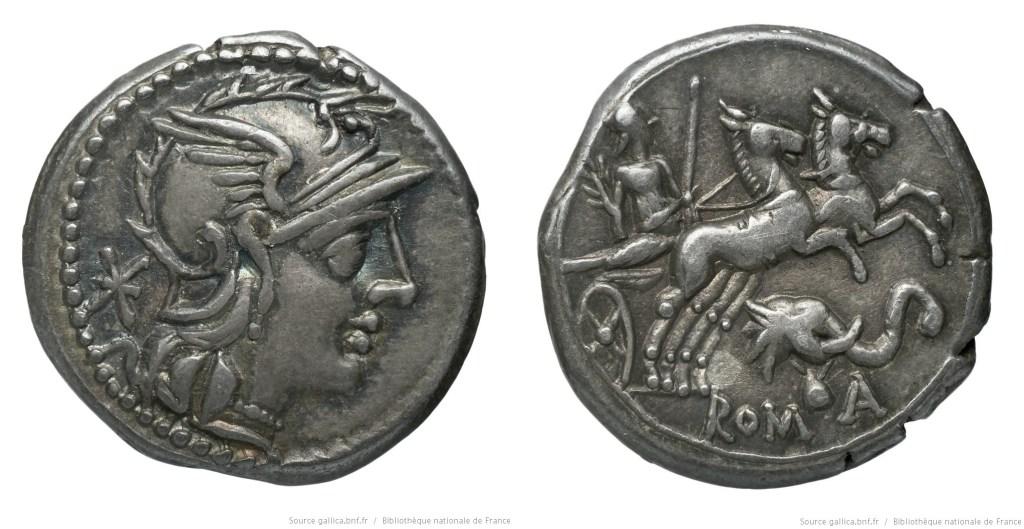 1014CA – Denier Caecilia – Lucius Cæcilius Metellus