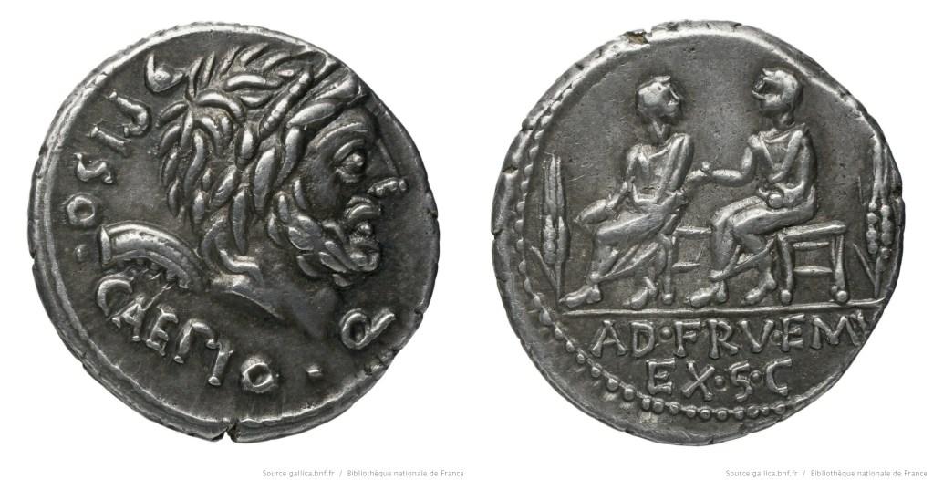 Read more about the article 1167CA – Denier Calpurnia – Lucius Calpurnius Piso Cæsoninus