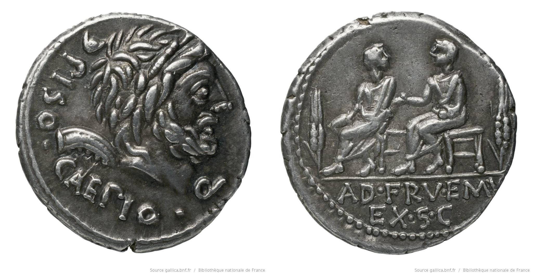 You are currently viewing 1167CA – Denier Calpurnia – Lucius Calpurnius Piso Cæsoninus