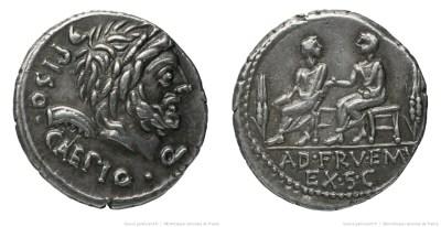 1167CA – Denier Calpurnia – Lucius Calpurnius Piso Cæsoninus