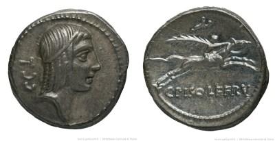 1358CA – Denier Calpurnia – Caius Calpurnius Piso Frugi