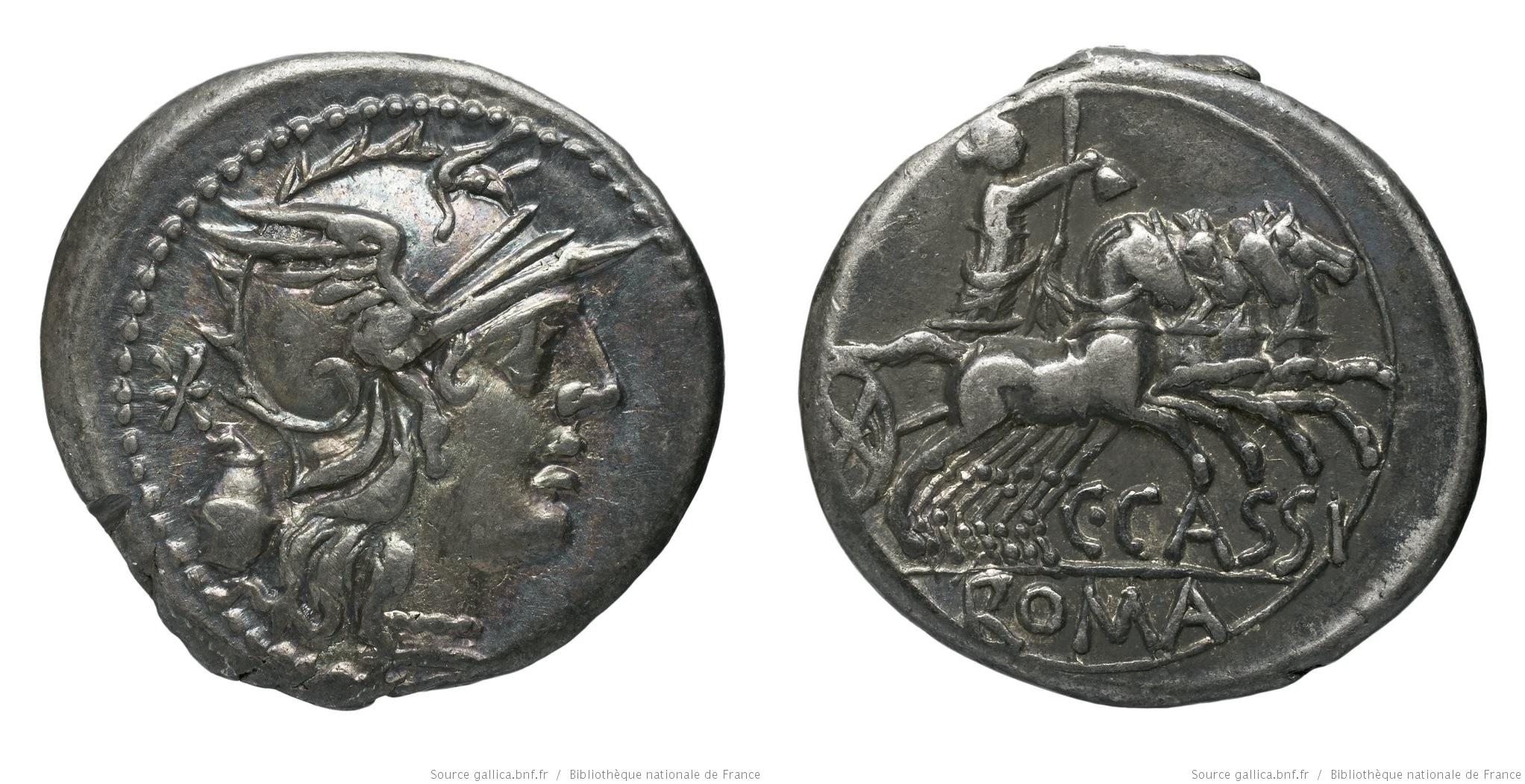 1031CA – Denier Cassia – Caius Cassius
