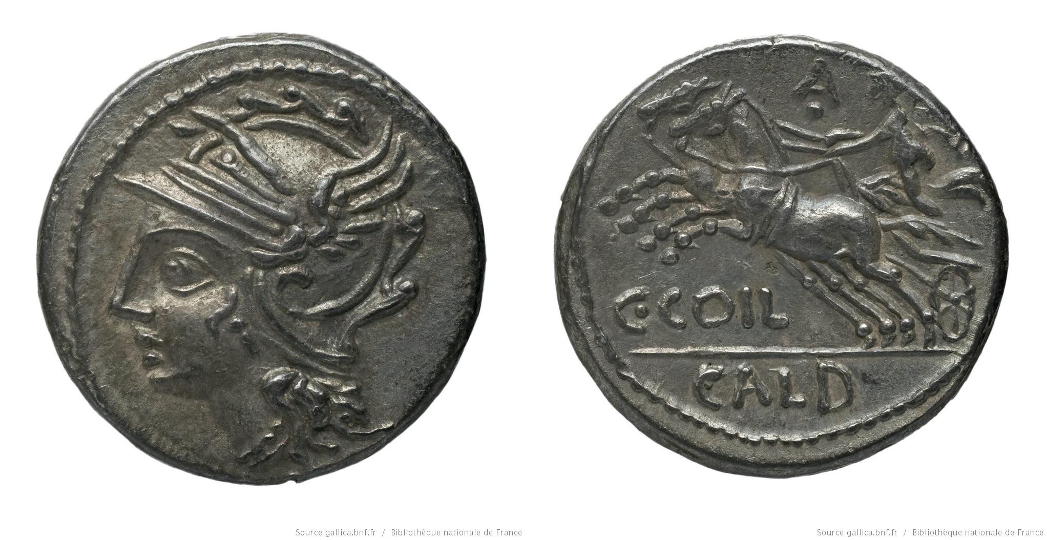 1149CO – Denier Coelia – Caius Cœlius Caldus