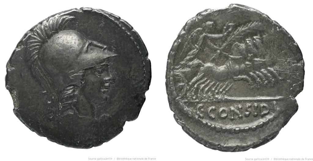 Read more about the article 1486CO – Denier Considia – Caius Considius Pætus