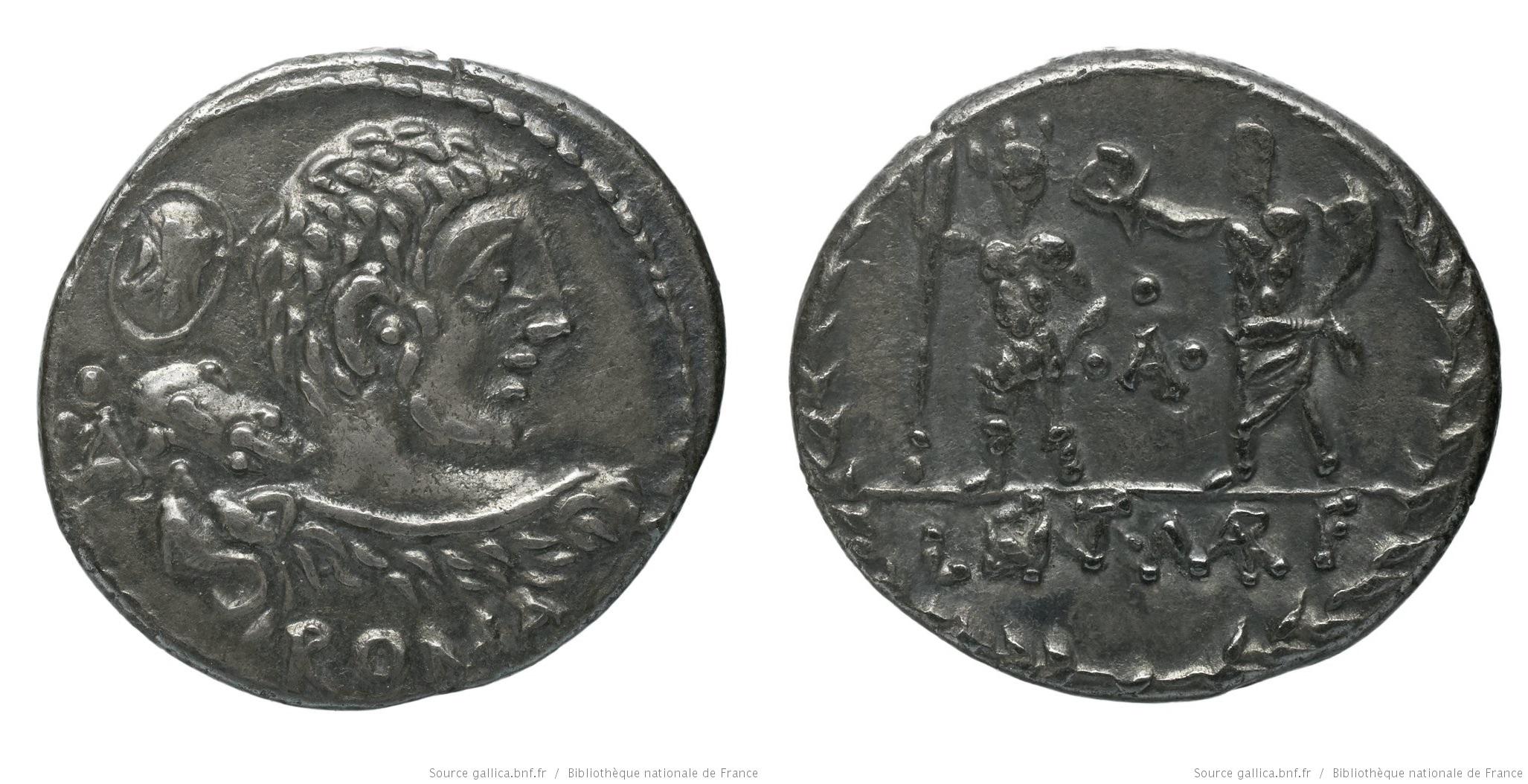 1164CO – Denier Cornelia – Publius Cornelius Lentulus Marcellinus