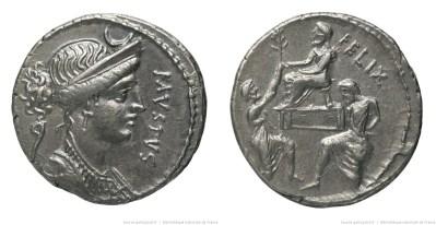 1395CO – Denier Cornelia – Faustus Cornelius Sylla