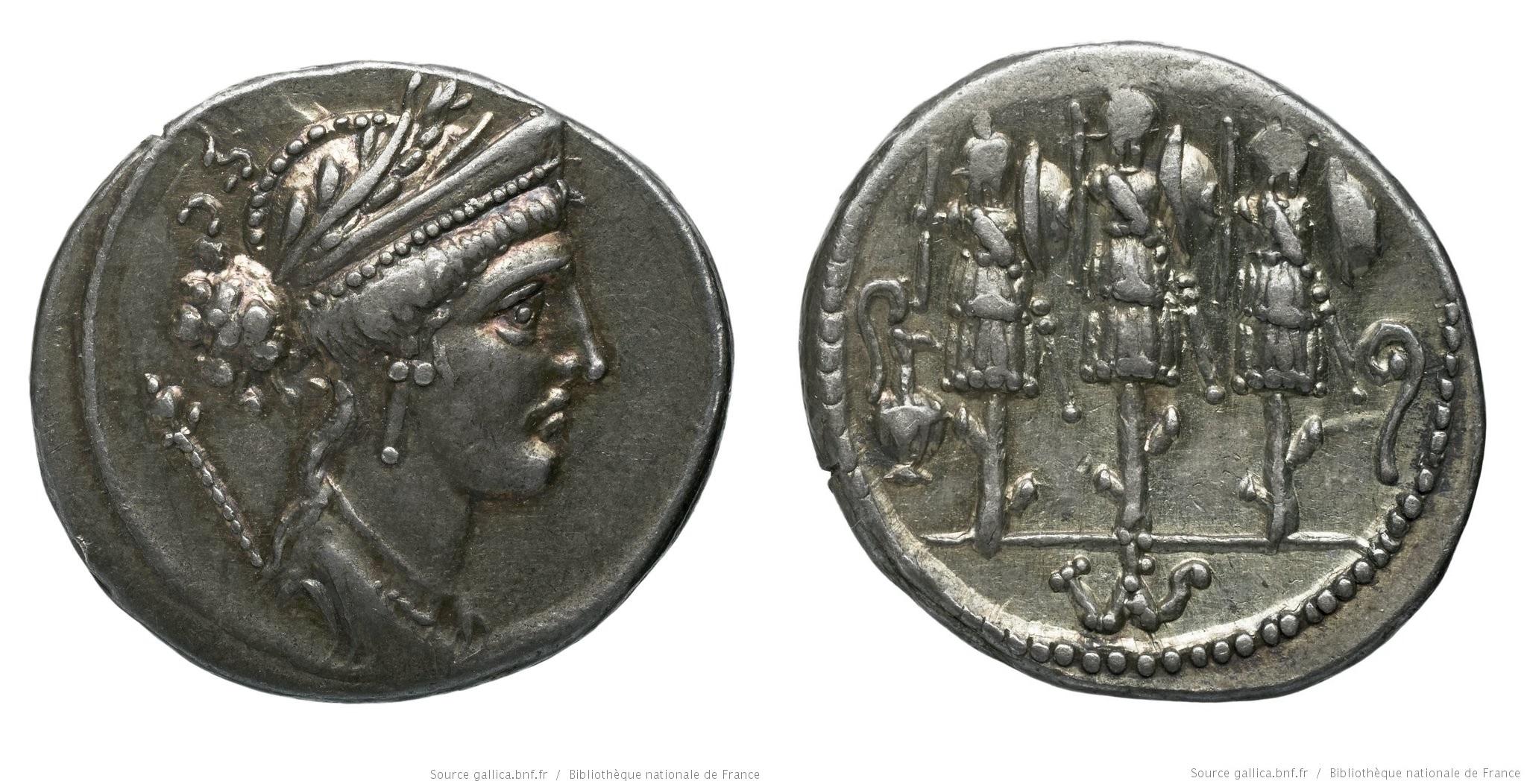 1397CO – Denier Cornelia – Faustus Cornelius Sylla