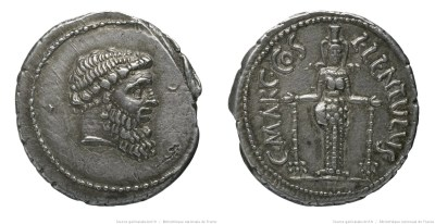 1427CO – Denier Cornelia – Lucius Cornelius Lentulus