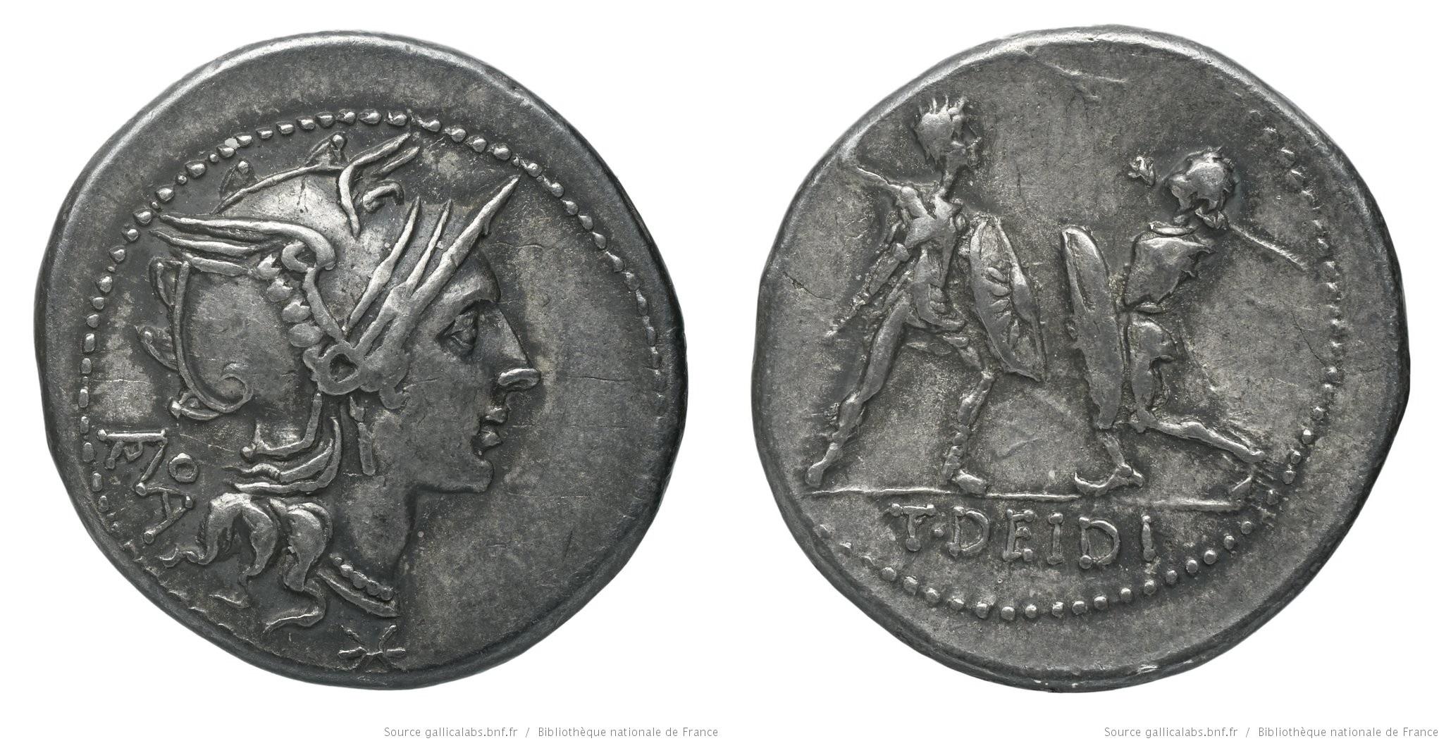 1105DI – Denier Didia – Titus Didius