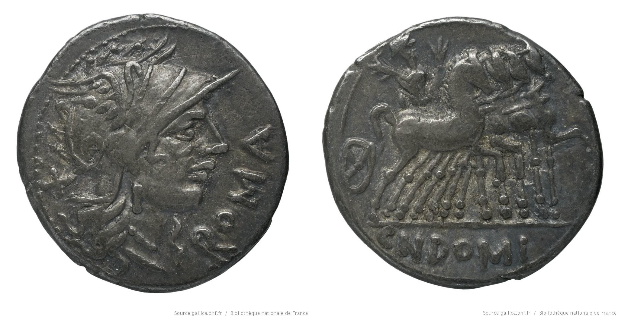 1076DO – Denier Domitia – Cnæus Domitius