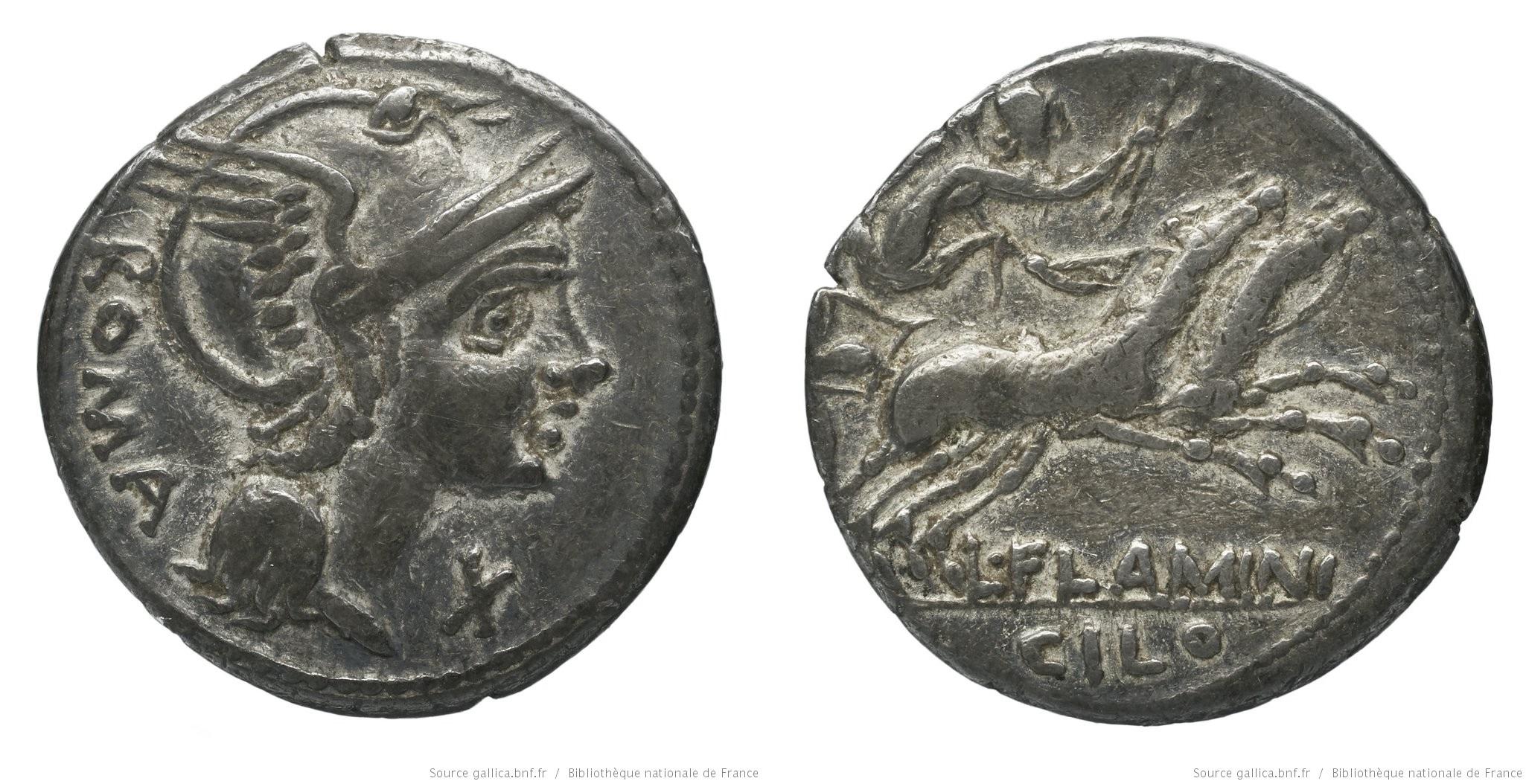 1117FL – Denier Flaminia – Lucius Flaminius Chilo