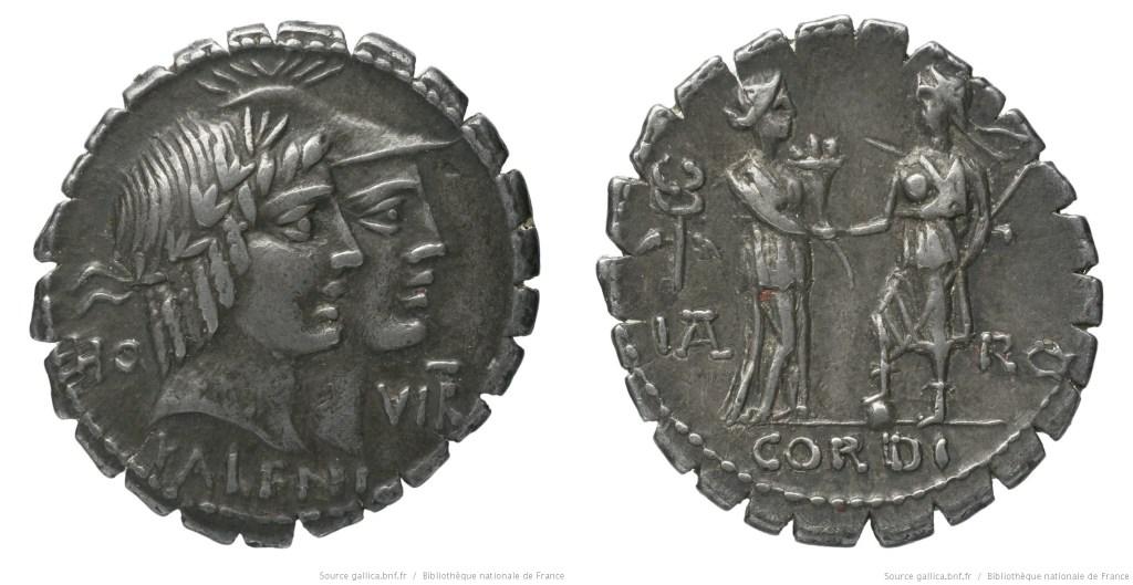 Read more about the article 1347FU – Denier Serratus Fufia – Quintus Fufius Calenus
