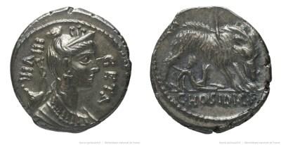 1356HO – Denier Hosidia – Caius Hosidius Geta