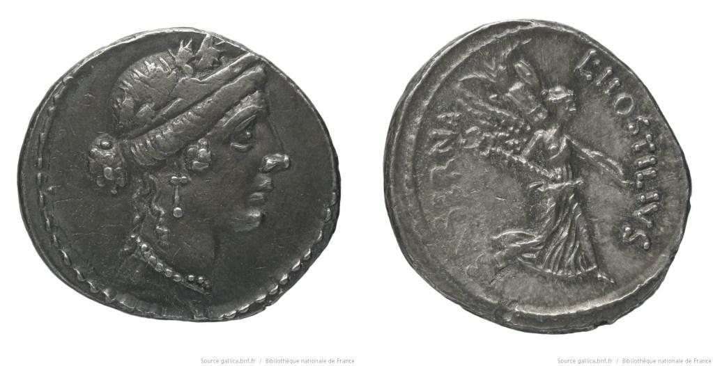 Read more about the article 1431HO – Denier Hostilia – Lucius Hostilius Saserna