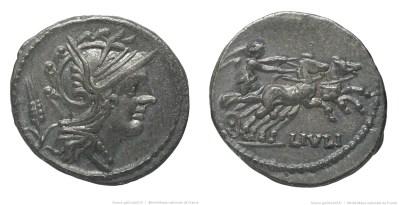 1157JU – Denier Julia – Lucius Julius