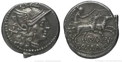 822MA – Denier Maiania – Caius Maianius