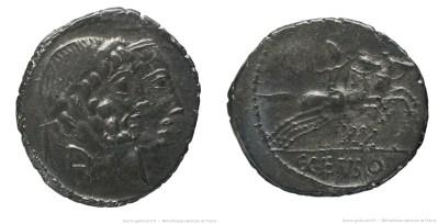 1245MA – Denier Marcia – Caius Marcius Censorinus