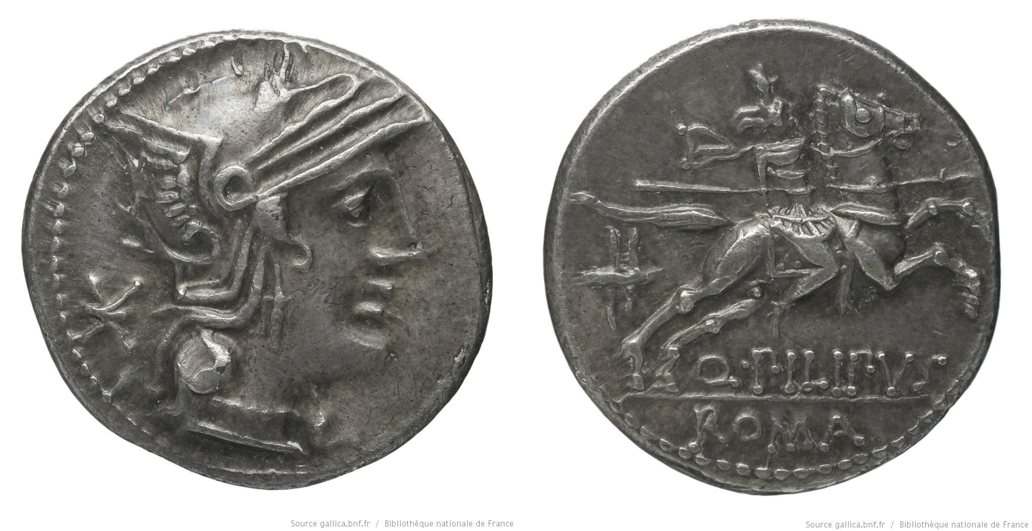 1008MA – Denier Marcia – Quintus Marcius Philippus