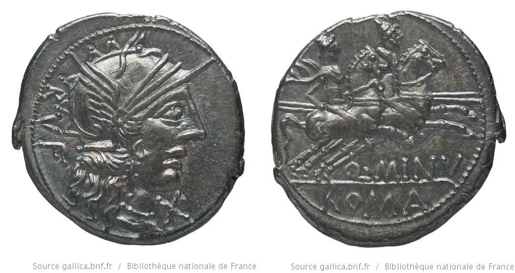 1059MI – Denier Minucia – Quintus Minucius Rufus