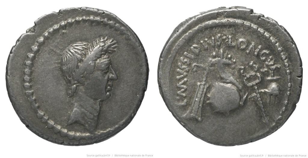 Read more about the article 1617JU – Denier César – Lucius Mussidius Longus