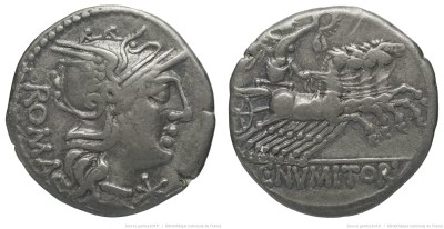 965NU – Denier Numitoria – Caius Numitorius