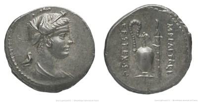 1352PL – Denier Plaetoria – Marcus Plætorius Cestianus