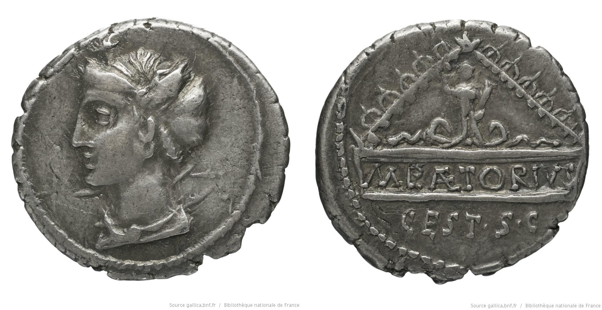 You are currently viewing 1349PL – Denier Plaetoria – Marcus Plaetorius Cestianus