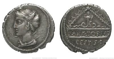 1349PL – Denier Plaetoria – Marcus Plaetorius Cestianus