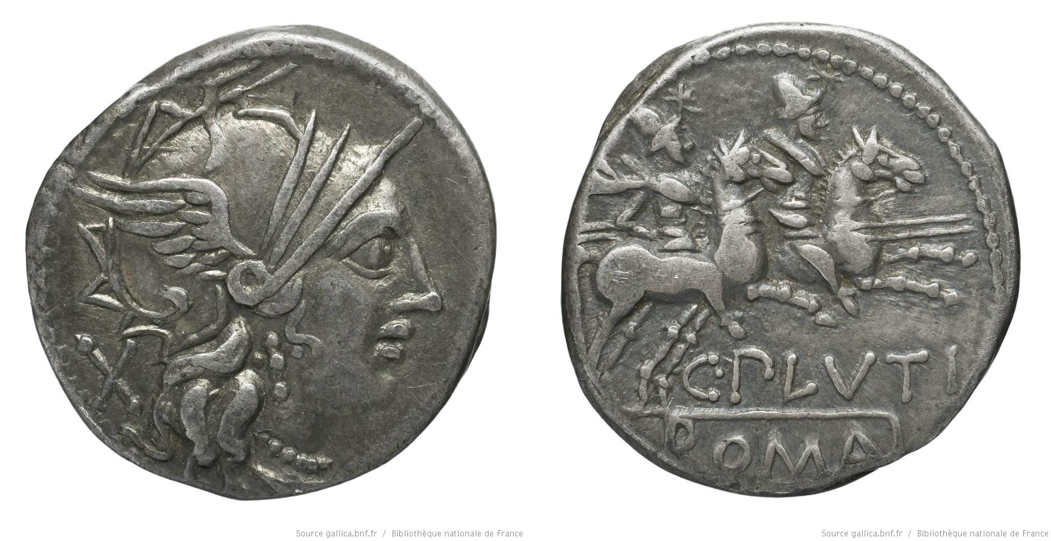 1061PL – Denier Plutia – Caius Plutius
