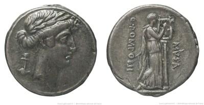 1362PO – Denier Pomponia – Quintus Pomponius Musa