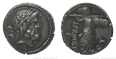 1311PR – Denier Procilia – Lucius Procilius