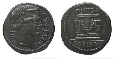 1376SC – Denier Scribonia – Lucius Scribonius Libo