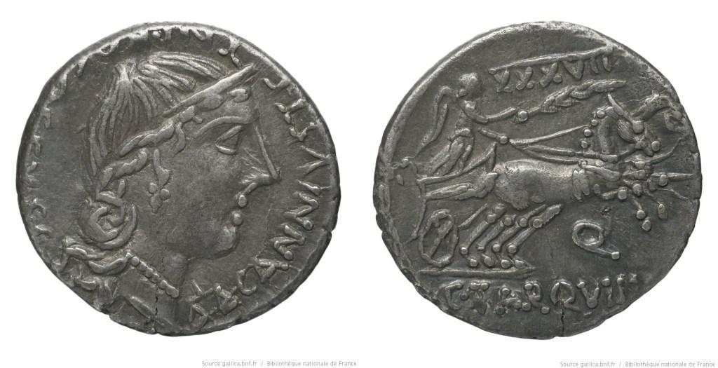 Read more about the article 1289TA – Denier Tarquitia – Caius Tarquitius