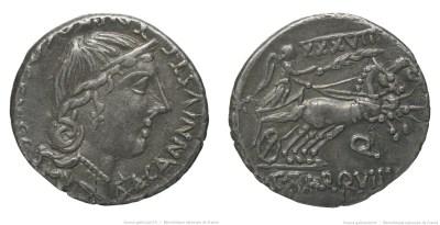 1289TA – Denier Tarquitia – Caius Tarquitius