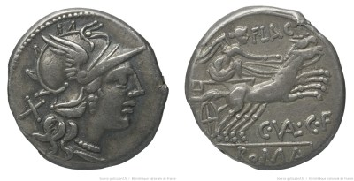 908VA – Denier Valeria – Caius Valerius Flaccus