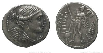 1122VA – Denier Valeria – Lucius Valerius Flaccus