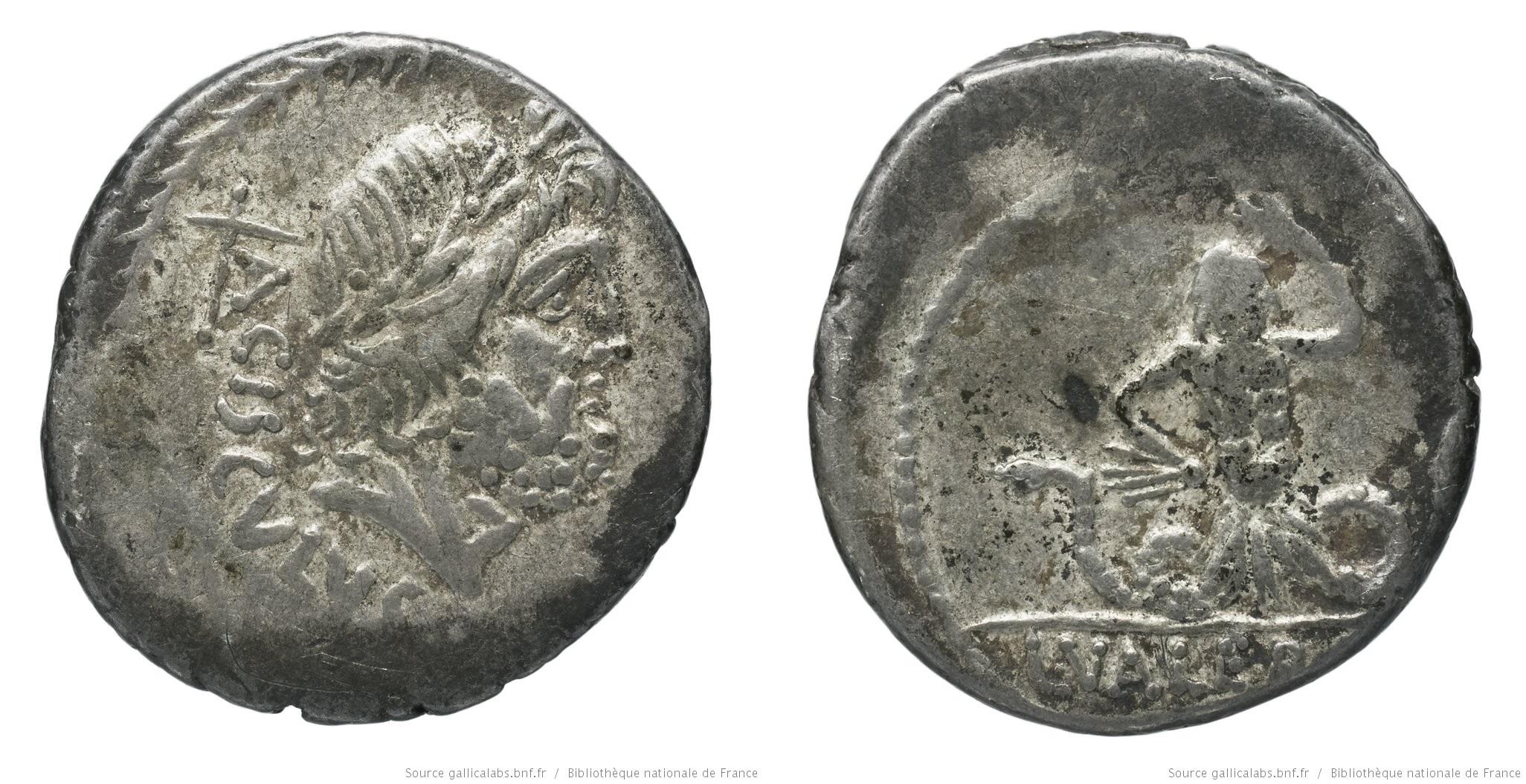 1511VA – Denier Valeria – Lucius Valerius Acisculus