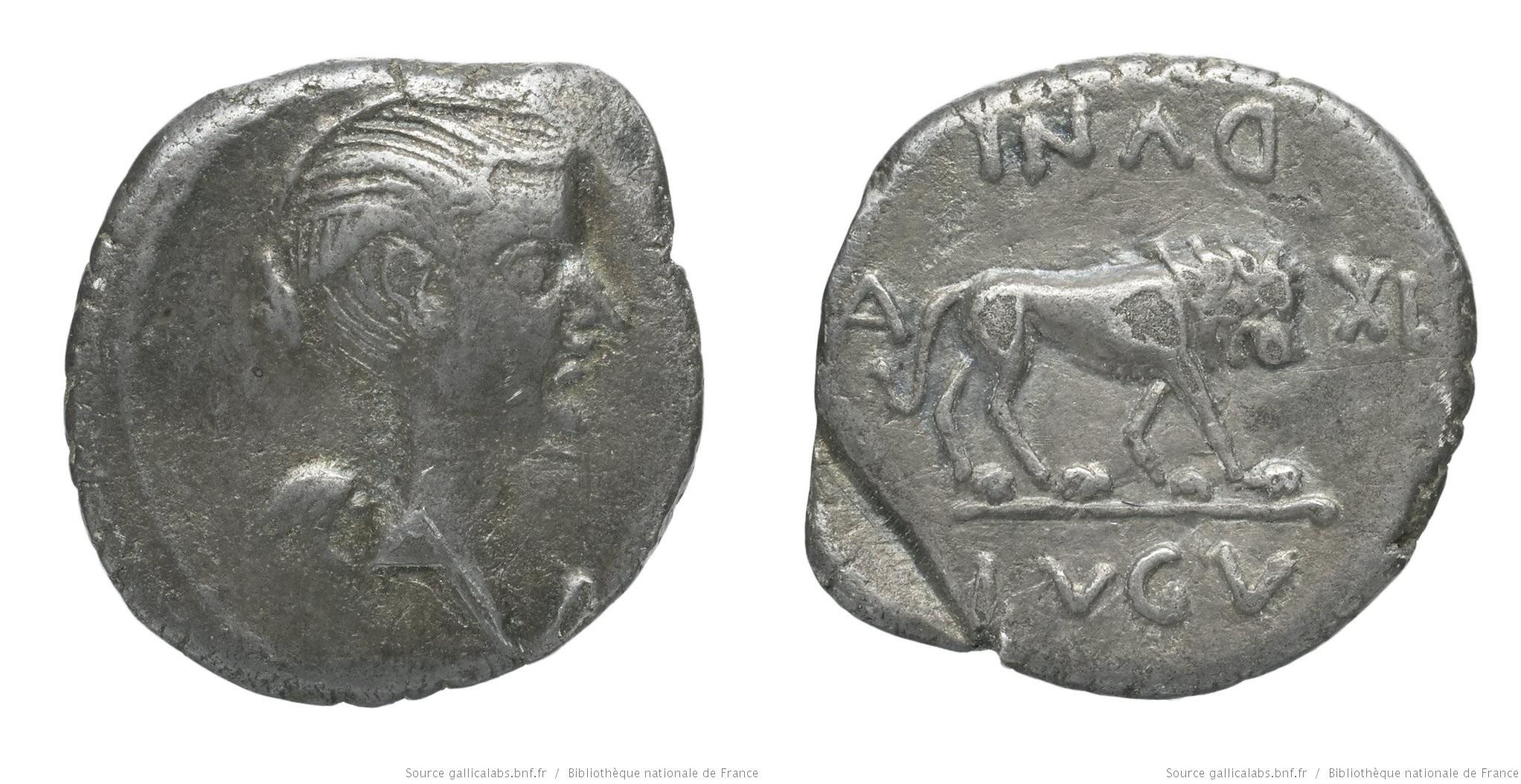 1568AN – Quinaire Fulvia – Marcus Antonius