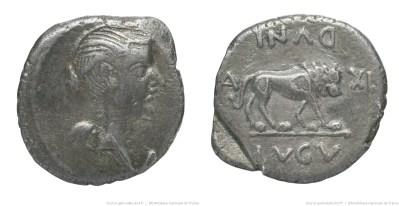 1568AN – Quinaire Fulvie – Marcus Antonius