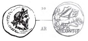 Denier Junia _ RRC 337/1b