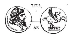 Denier Titia _ RRC 341/1