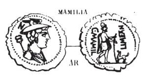 Denier Serratus Mamilia _ RRC 362/1