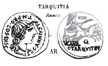 Denier Tarquitia _ RRC 366/4