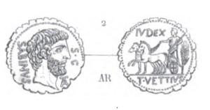 Denier Serratus Vettia _ RRC 404/1