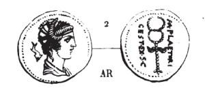 Denier Plaetoria _ RRC 405/3