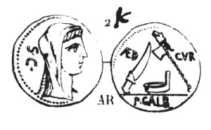 Denier Sulpicia _ RRC 406/1